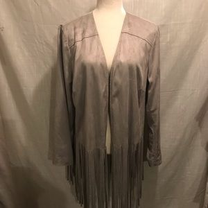 Chico's fringe jacket